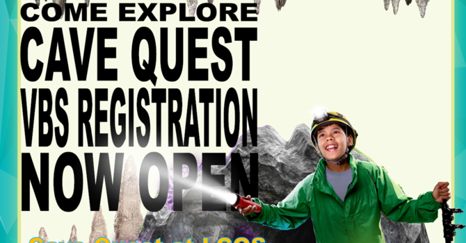 Registration for Vacation Bible School is now open! image