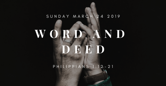 Sunday Bulletin - March 24th 2019 image