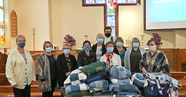 St. George's TLC Ladies Gift Youth with Quilts