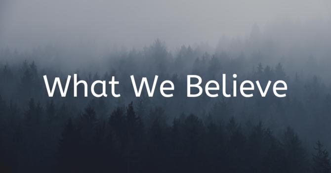 Statement of Faith 信仰