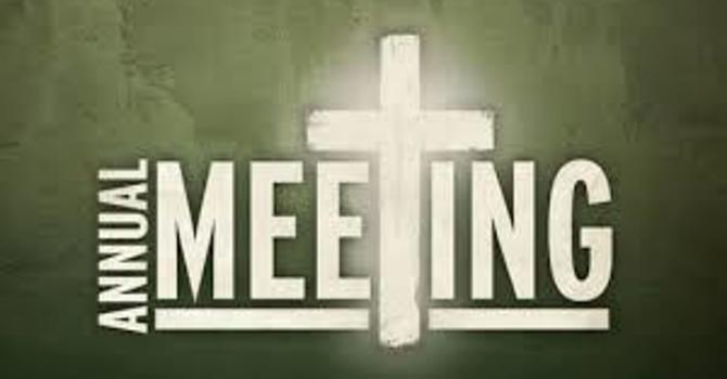 Annual Meeting Of Parishioners image