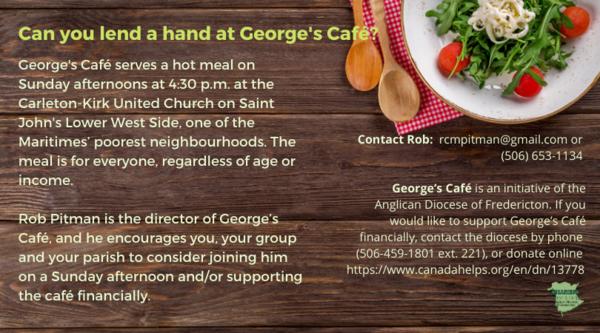 George's Café needs some help
