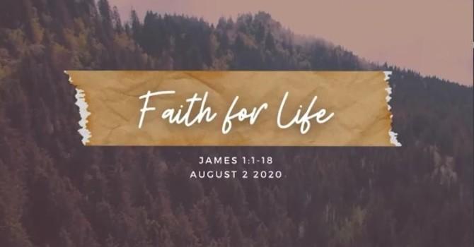 """Talk """"Faith for Life"""" August 2, 2020 image"""