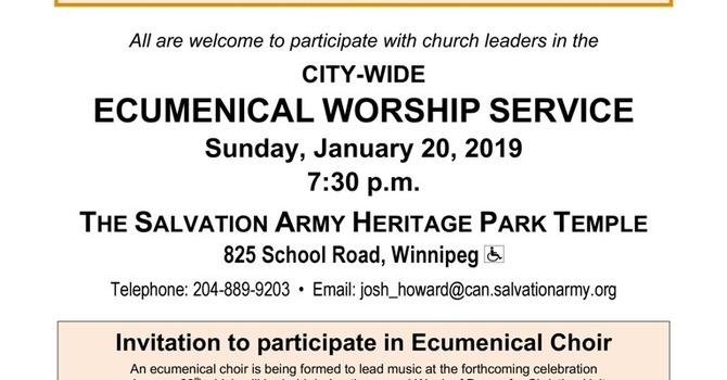Ecumenical Service image