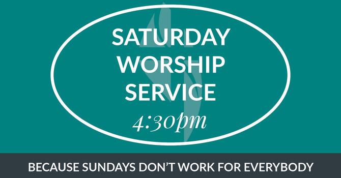 Saturday Worship Service image