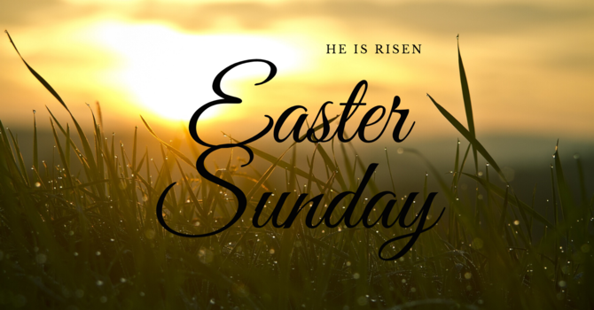 Easter Sunday Online Service 2020 image