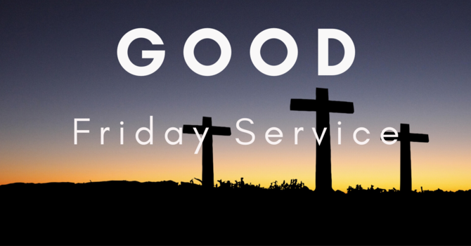 Good Friday Online Service 2020 image