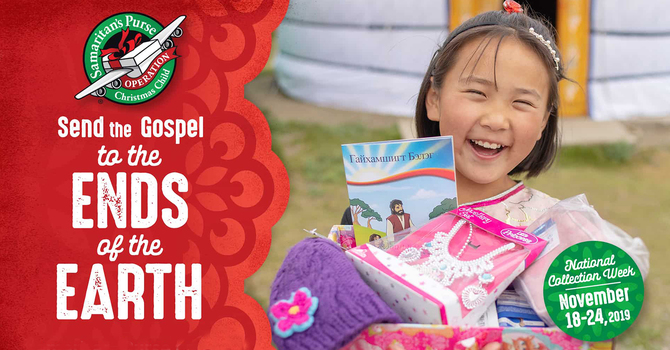 Operation Christmas Child Shoeboxes 2019 image