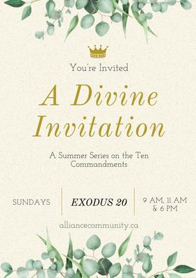 A Divine Invitation
