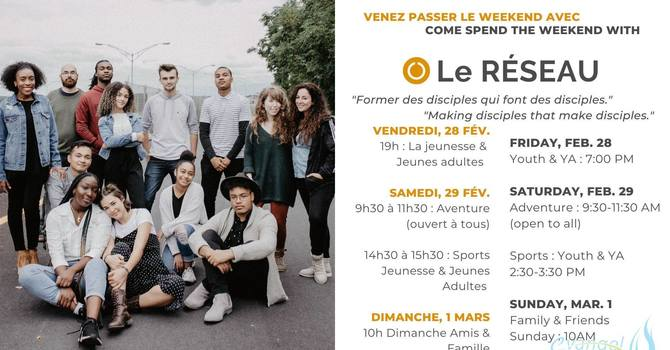 Special Weekend with 'Le Réseau' image