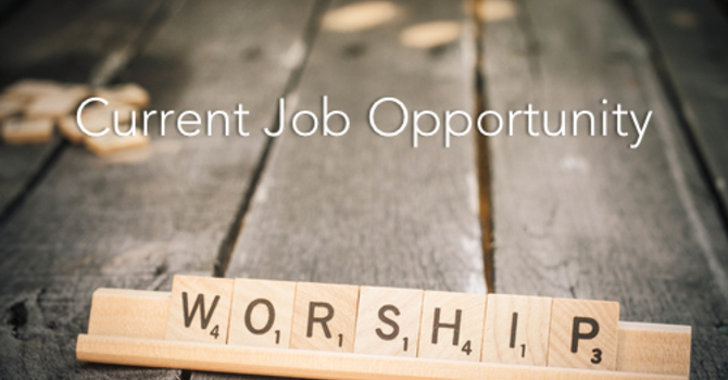 Worship Ministries Director Job Opportunity image