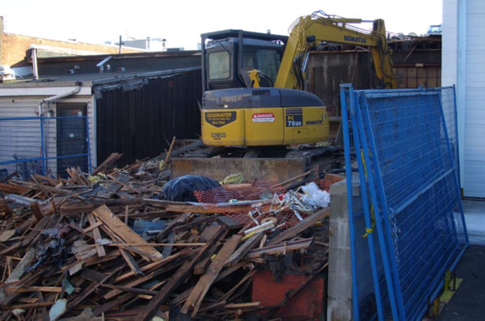 Granville St Demolition