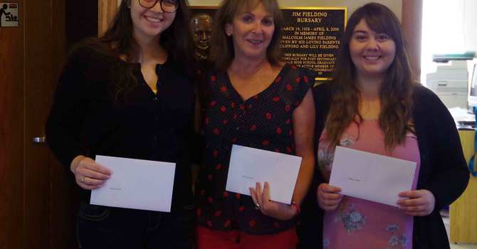 Fielding Bursary Awards image