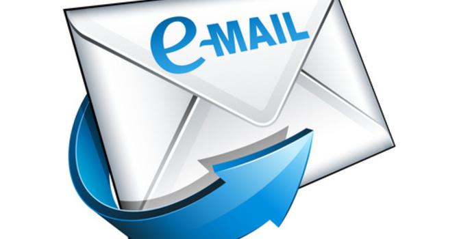 Change of Email addresses image