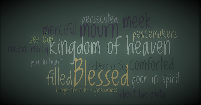 "New Sermon Series ... ""The Beatitudes""  image"