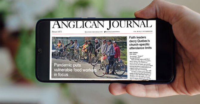 Anglican Journal - November 2020 image