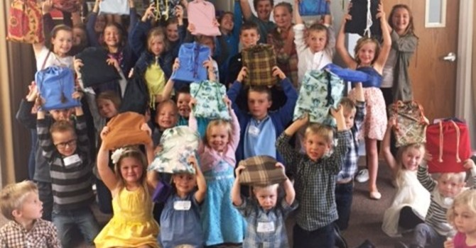 Willoughby Kids Share a Gift of Love   image