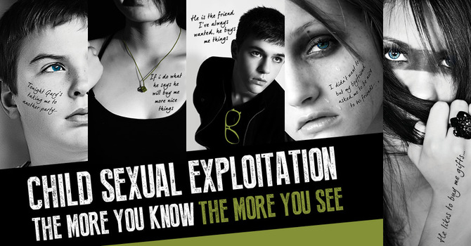 Stop the Sexual Exploitation of Youth Awareness Week image