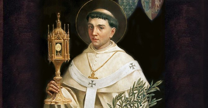 Feast of Saint Norbert Celebration of our parish's Patron Saint image