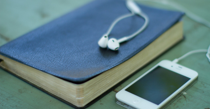 Listen to sermons on the go image