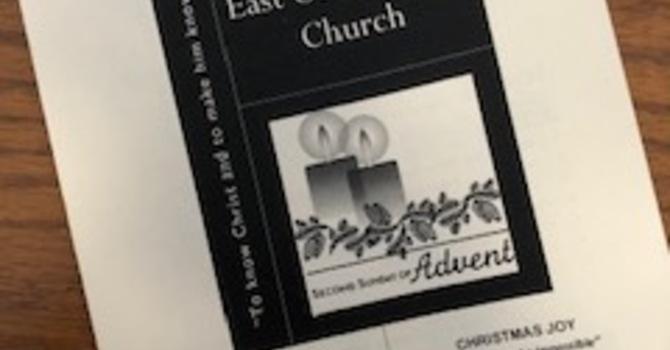 December 8, 2019 Church Bulletin image