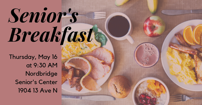 Senior's Breakfast