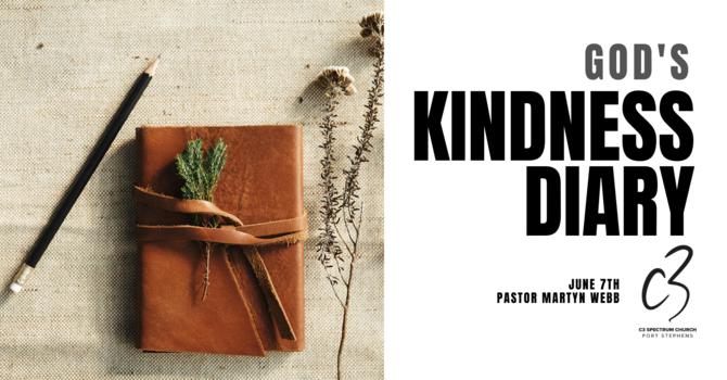 God's Kindness Diary