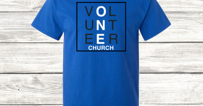 One Church Volunteer Tee