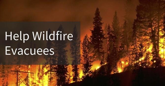 Help Wildfire Evacuees  image