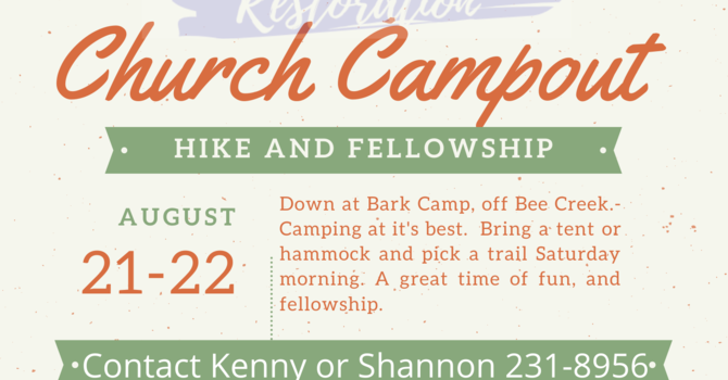 CHURCH CAMP OUT image
