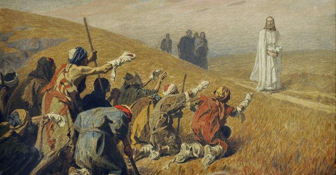 Jesus Meets Ten Lepers