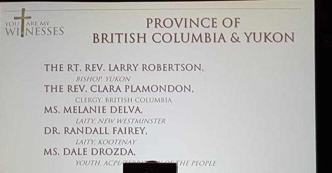 Provincial Caucuses elect CoGS reps image
