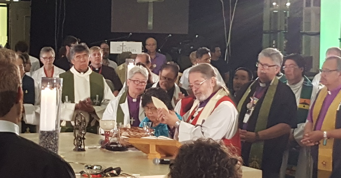 """Indigenous Peoples Sunday"" Eucharist image"