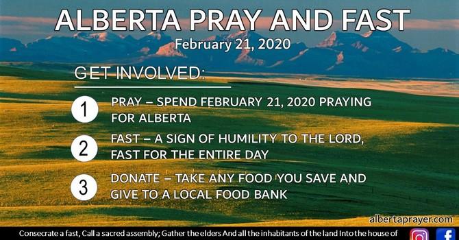 Alberta Pray and Fast