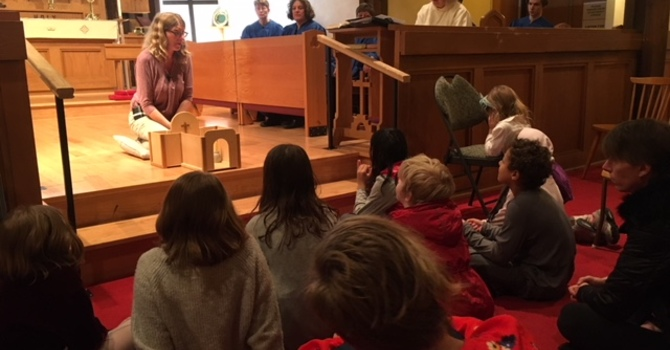 Godly Play in Church image
