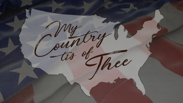 My Country Is Of Thee