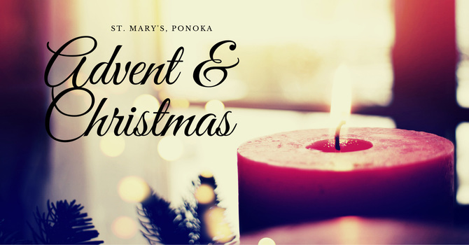 Advent and Christmas at St. Mary's, Ponoka image