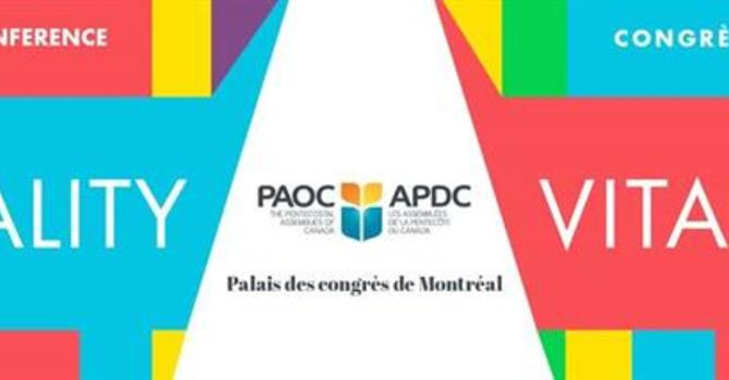 PAOC convenes its biannual conference in Montreal image