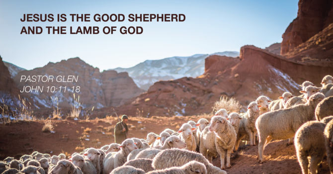 Jesus is the Good Shepherd and the Lamb of God