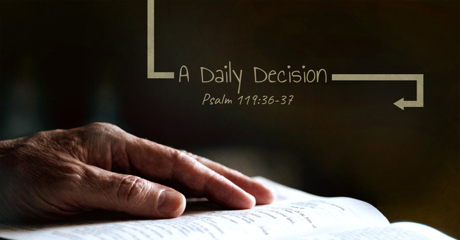 A Daily Decision image