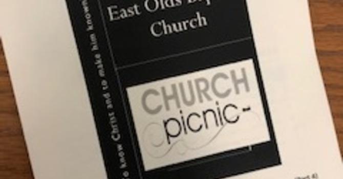 August 25, 2019 Church Bulletin image