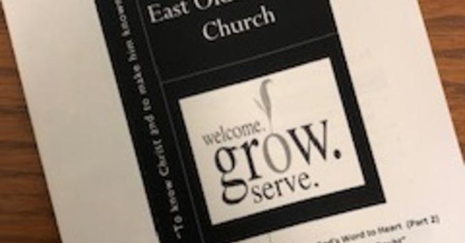 August 11, 2019 Church Bulletin image