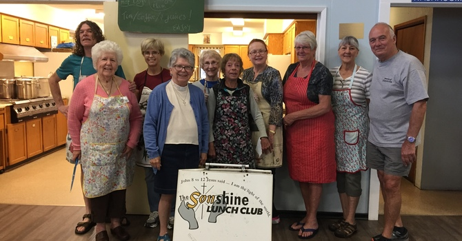 Sonshine Lunch Club News  image