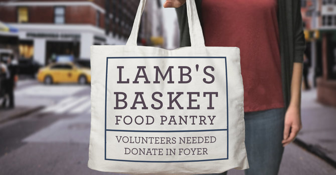 Volunteer @ the Lamb's Basket