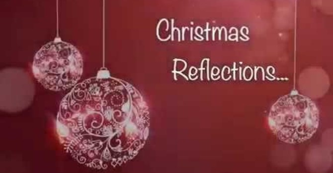 Christmas Musings (from a guest blogger) image