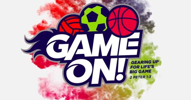 """""""Game On"""" VBS - August 7-11, 2018 image"""