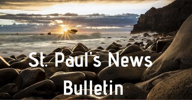 St. Paul's June 23rd  News Bulletin image