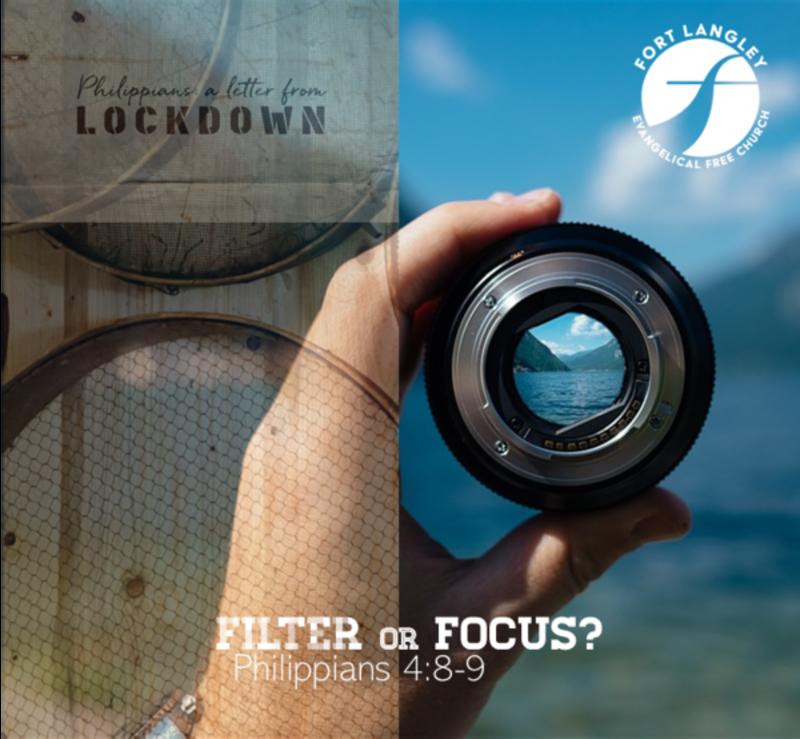 Focus, Not Filter