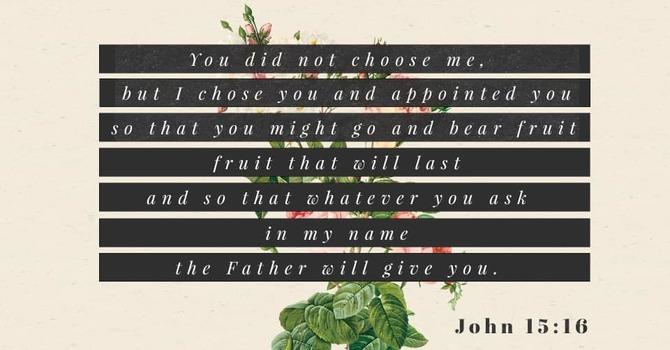 God Chose YOU! 10-7-18 image
