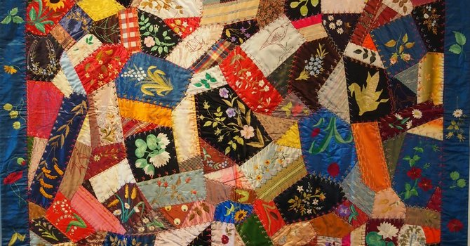 Quilting our lives – the act of remembering.